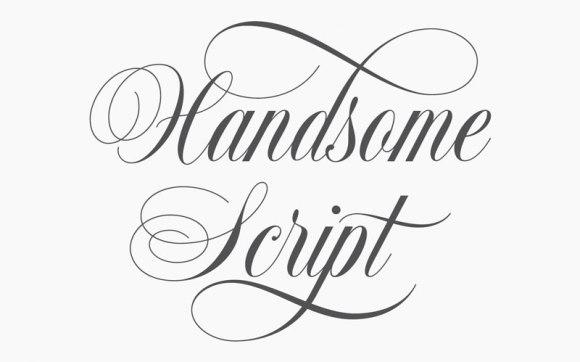 handsome-script