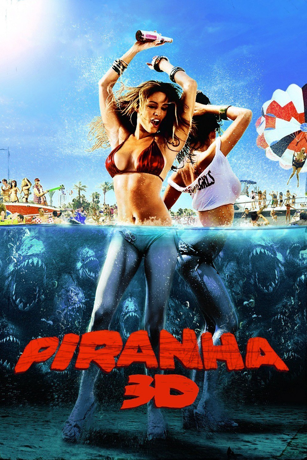 Raz's Midnight Macabre Horror Review: Piranha 3D