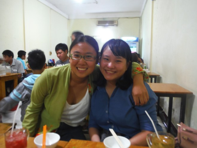 Me and Oany were both in the Mandarin program at MCU.