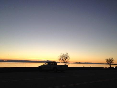Sunset in Sechelt