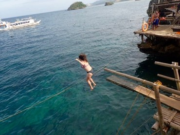 """Jumping off the """"baby"""" cliff"""