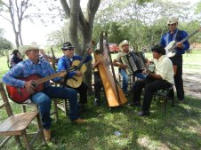 Fiesta Patronal 2014; These musicians played for 6 hours this day and took just one hour for lunch. Otherwise, they never stopped playing the whole day. Great entertainment!