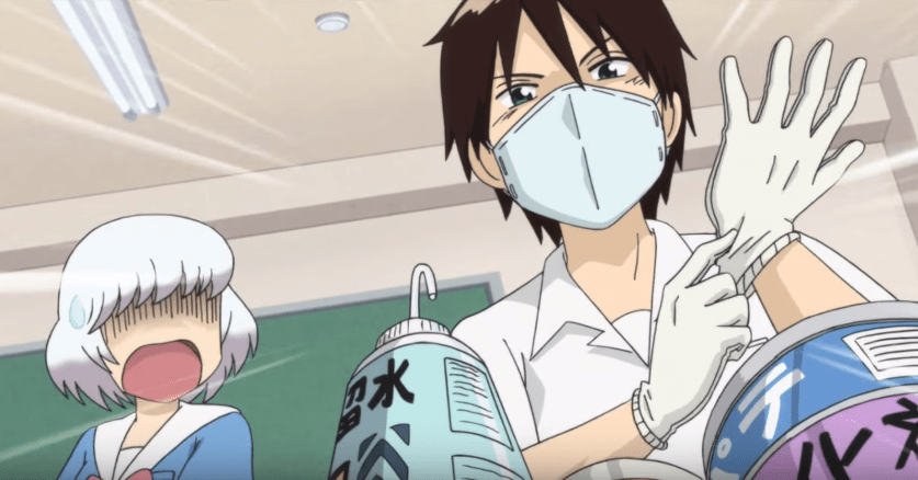 Anime Review – Tonari no Seki-kun: The Master of Killing Time