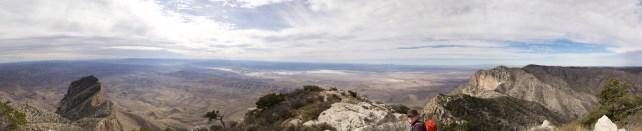Guadalupe Peak view