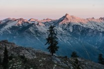 Trinity Alps Sunrise near Mt Shasta