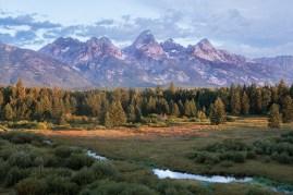 Black Tail Ponds Overlook Grand Tetons National Park