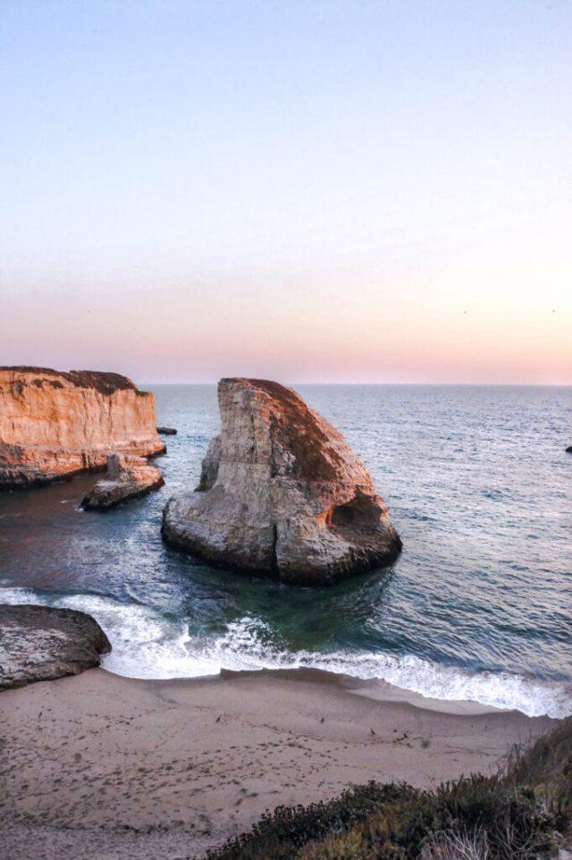 Best Stops on Highway 1 | Shark Fin Cove Sunset