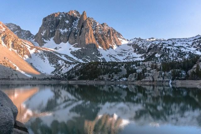 Second Lake | Big Pine Lakes Trail | Somewhere Sierra