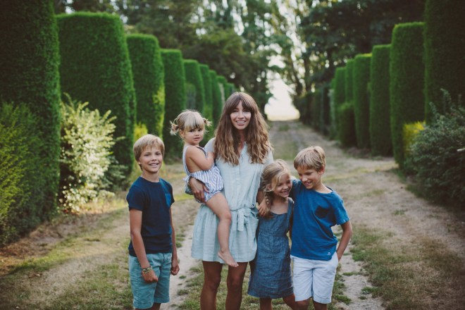 courtney and kids