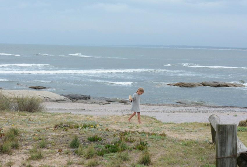 Ivy on the beach