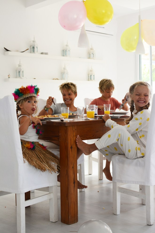 Marlow's birthday breakfast