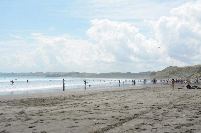 Raglan beach