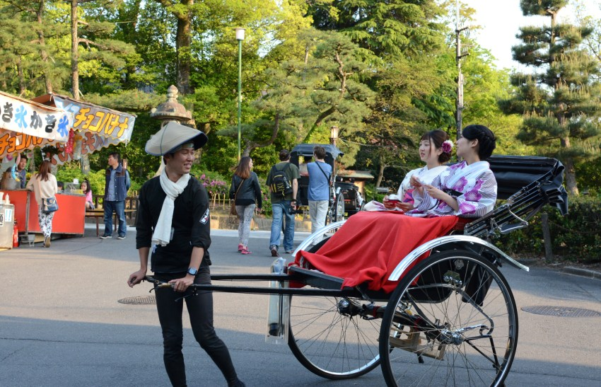 carriage in Kyoto