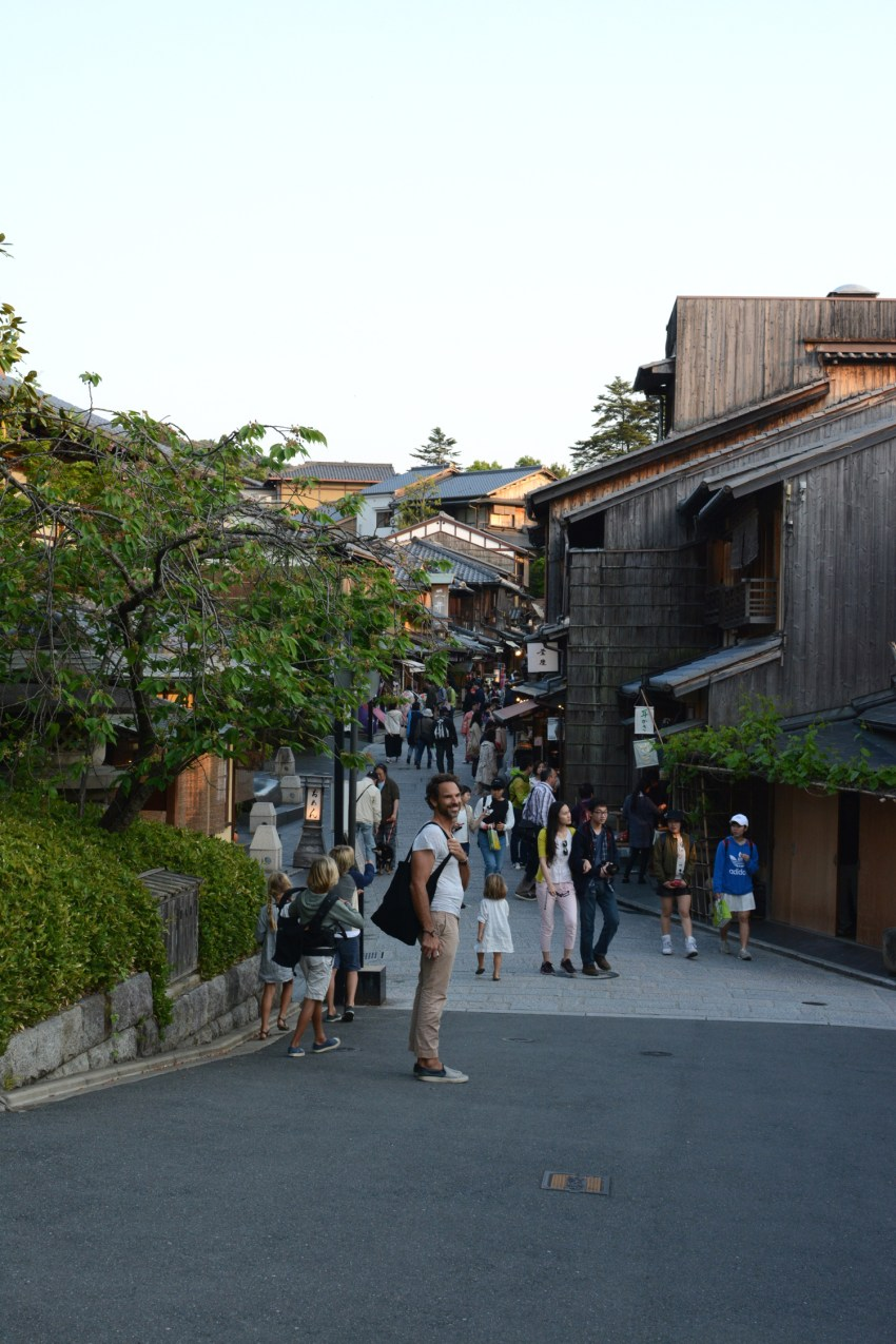 Michael in Kyoto