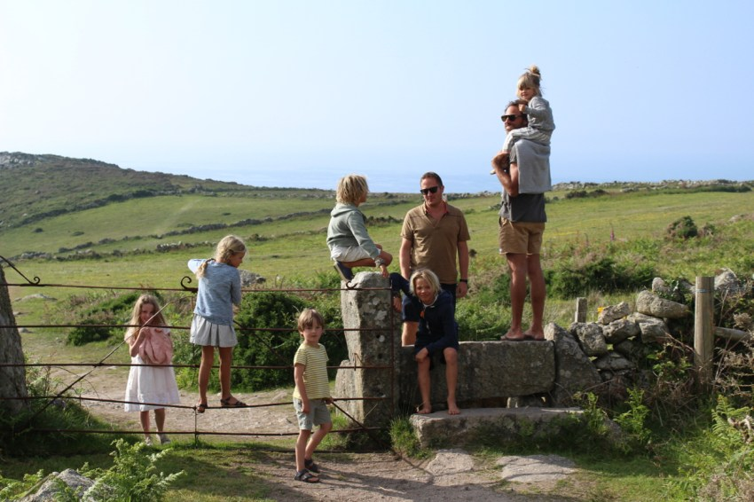 walking in zennor