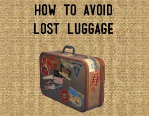 Avoid Lost Luggage