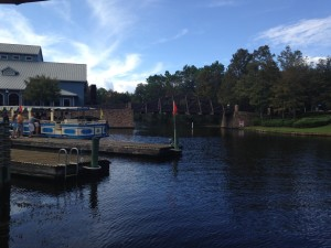 Port Orleans Riverside Water Taxi