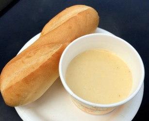 Epcot Food & Wine Cheese Fondue