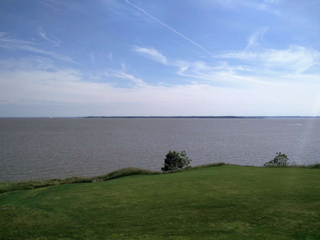 View of James River
