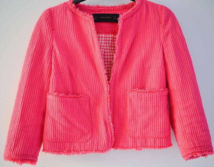Shoplog blazer Zara