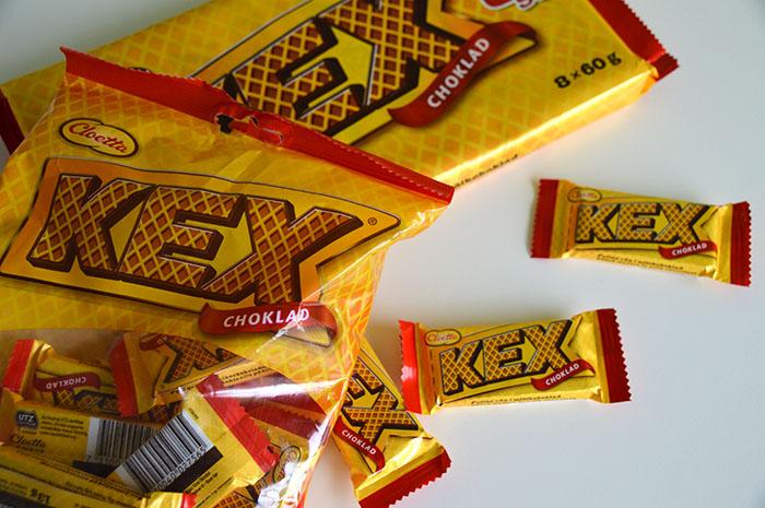 Zweedse lekkernijen uit de supermarkt - Kexchoklad