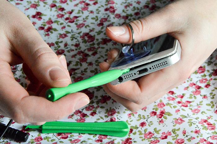 batterij van je telefoon 3a