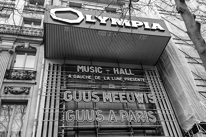 Guus Meeuwis in l'Olympia