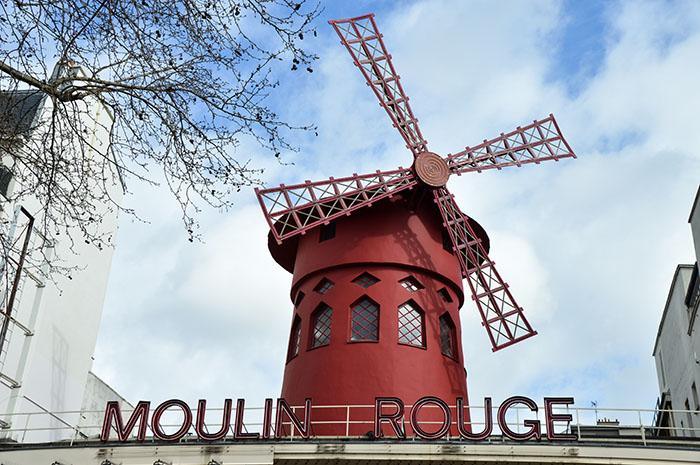 Citytrip Parijs deel 2 Moulin Rouge