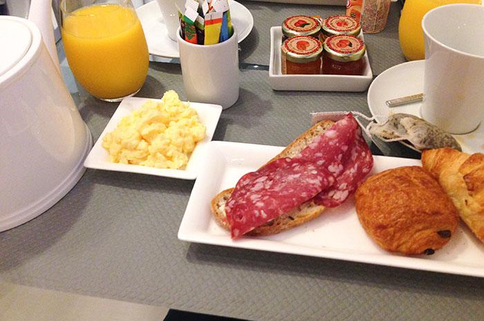 Citytrip Parijs deel 2 Ontbijt-1