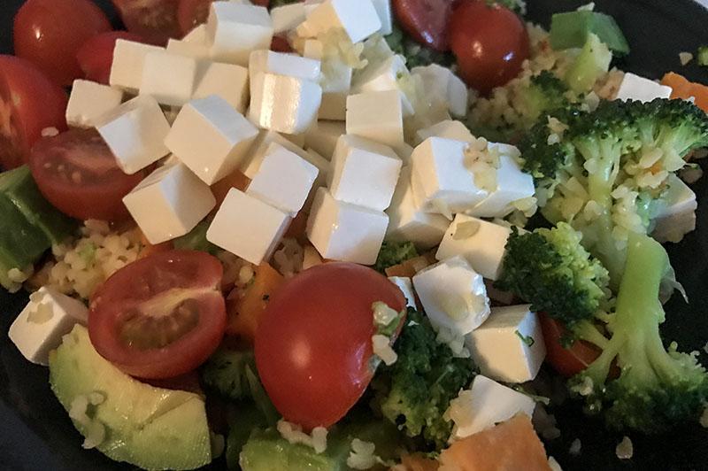 Dingen die ik deed in maart - vegetarisch eten