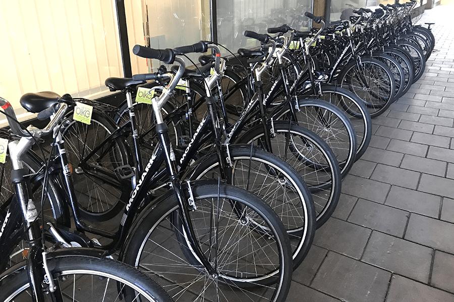Op de fiets door Stockholm - baja bikes