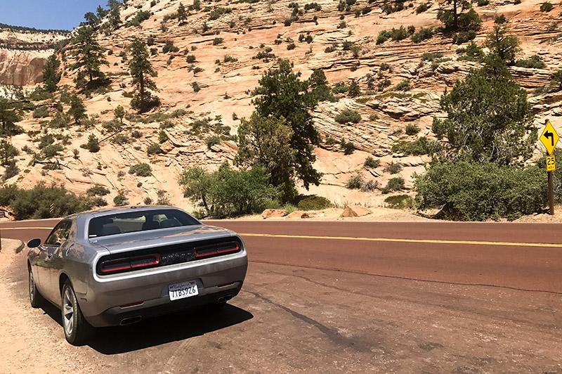 Roadtrip door West-Amerika - Zion national park + auto