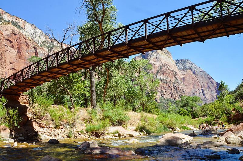 Zion National Park brug