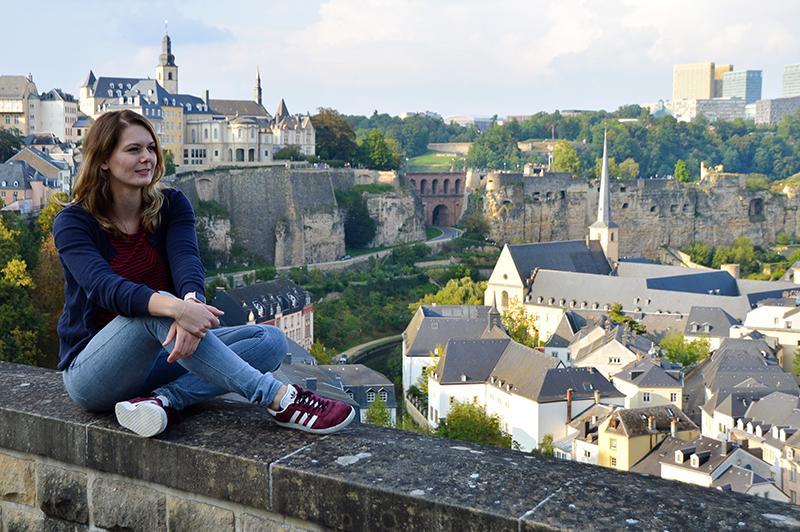 Citytrip Luxemburg - Amy en plateau du saint-esprit