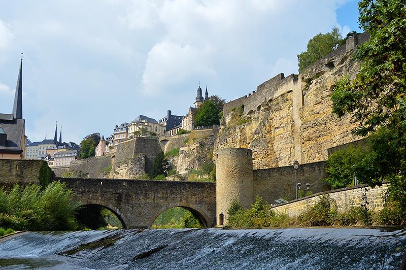 Citytrip Luxemburg - Grund Alzette