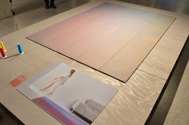 Dutch Design Week 2017 Graduation Show - flux rug
