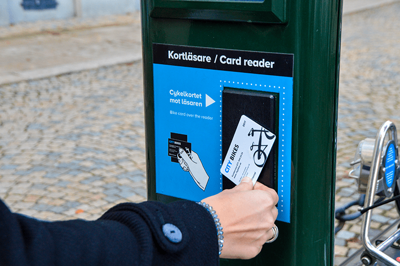 Stockholm City Bikes Card Reader