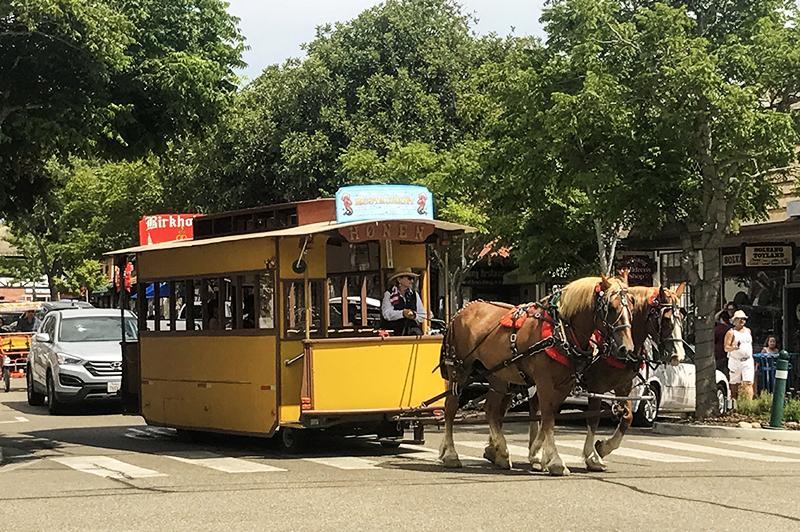 Solvang tram