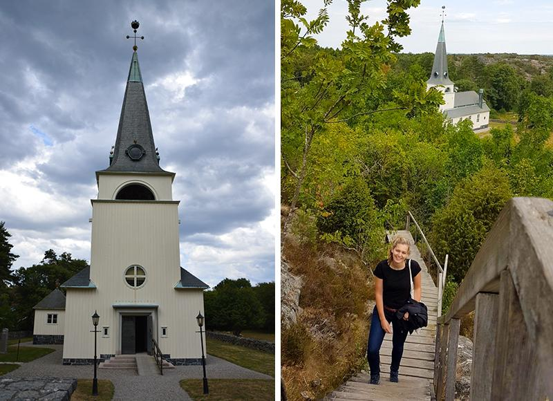 Kosterhavet national park church