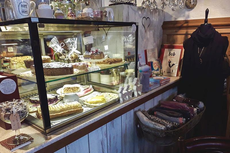 Antiquitäten Café counter