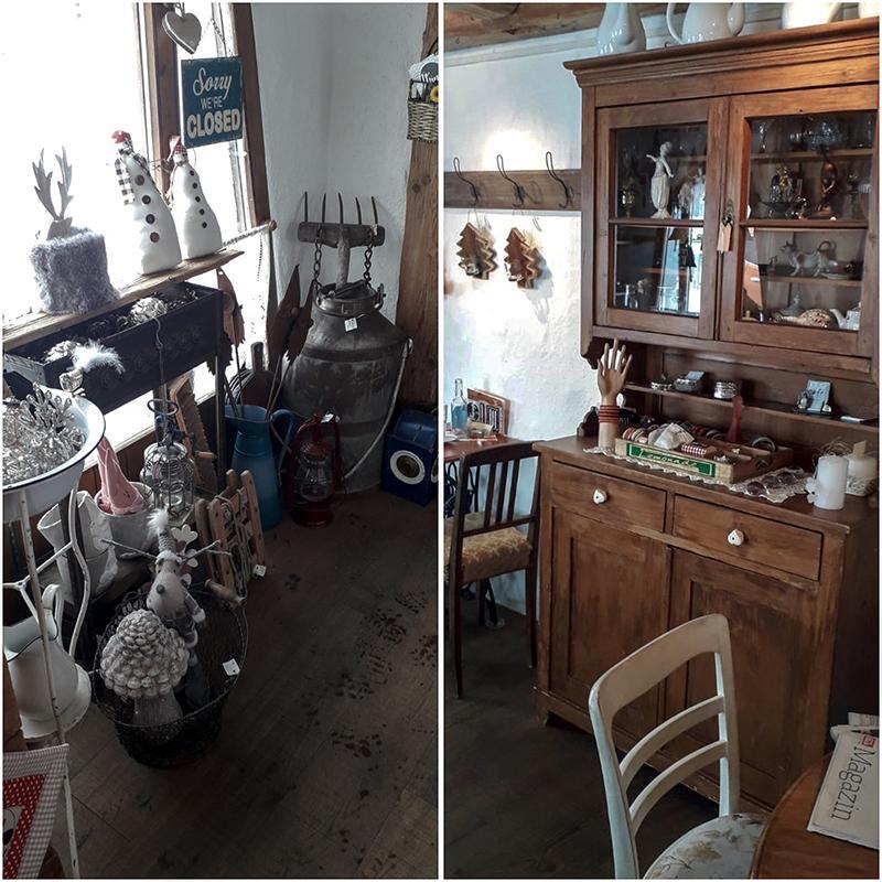 Antiquitäten Café interieur