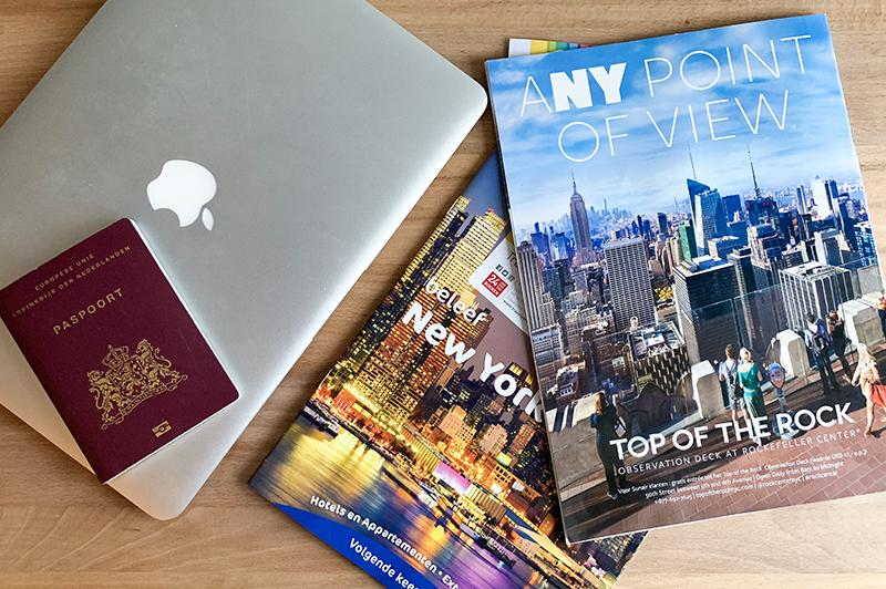 Reisplannen voor 2019 - New York