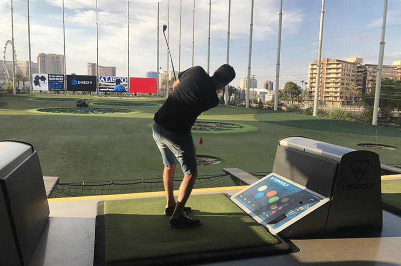 Doen in Las Vegas - Top golf Vegas 02