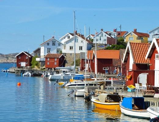 Gullholmen - West-Zweden
