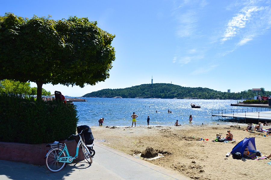 Kristiansand - city beach