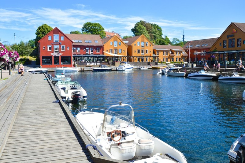 Kristiansand - fiskebrygga
