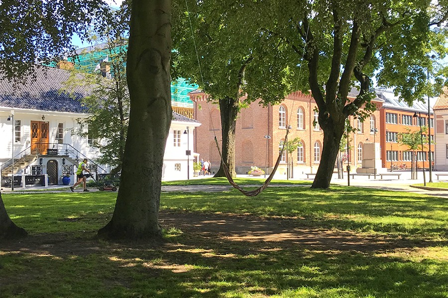 Kristiansand - groene stad