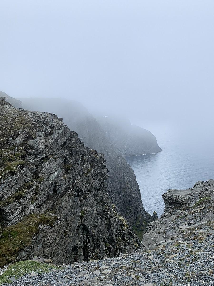 Kliffen bij De Noordkaap - sommarmorgon.com