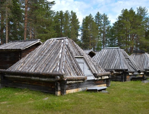 Lappstaden- de grootst bewaarde Sami nederzetting ter wereld