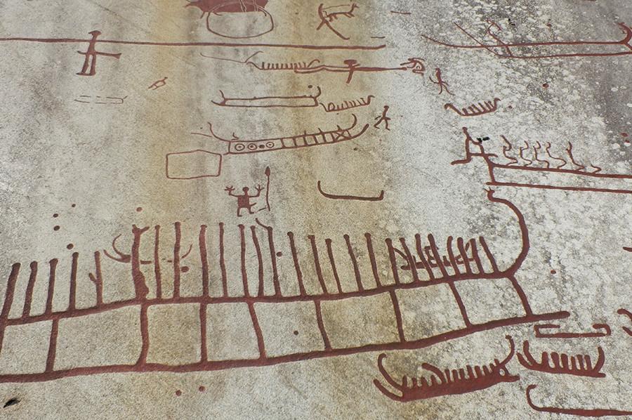 Tienduizenden rotstekeningen over het dagelijkse leven uit de bronstijd - sommarmorgon.com